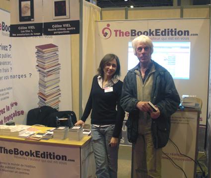 Céline Viel et un lecteur