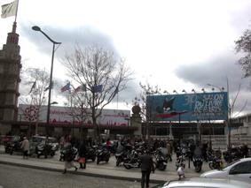 Entrée du Salon du Livre de Paris 2010