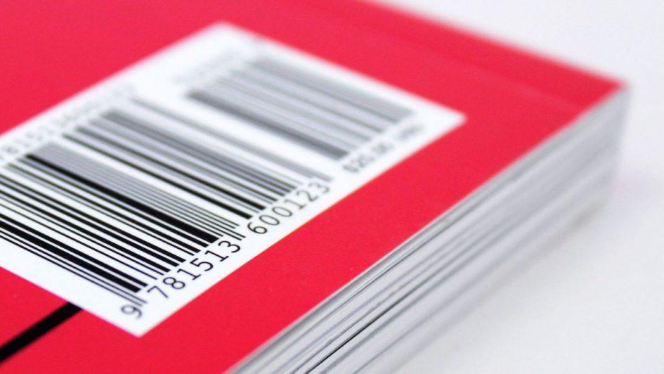 Code-barres de numéro ISBN