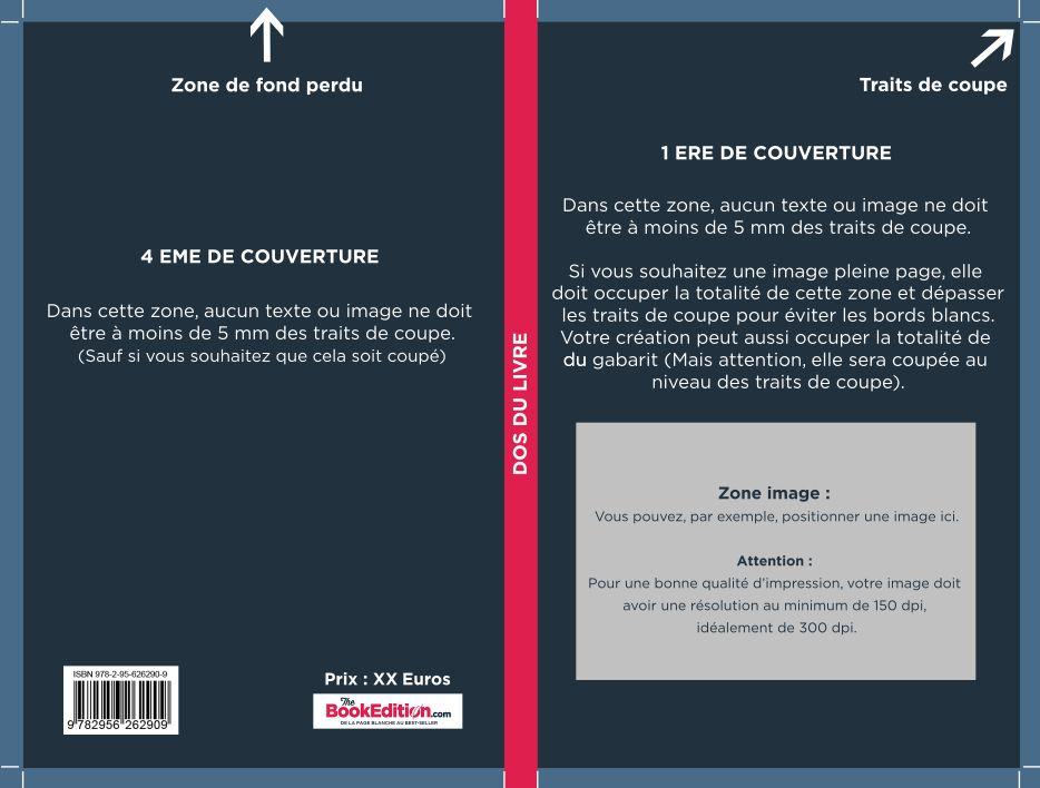 Code barre isbn sur couverture de livre
