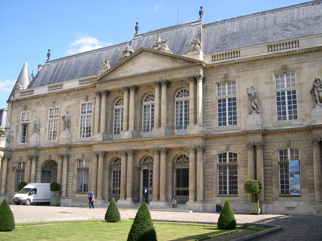 Paris_ArchivesNationales_Facade