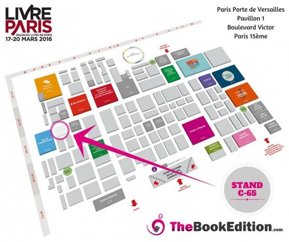 Plan Salon du Livre Paris