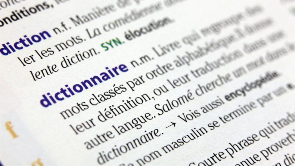 Nouveaux mots dans le dictionnaire
