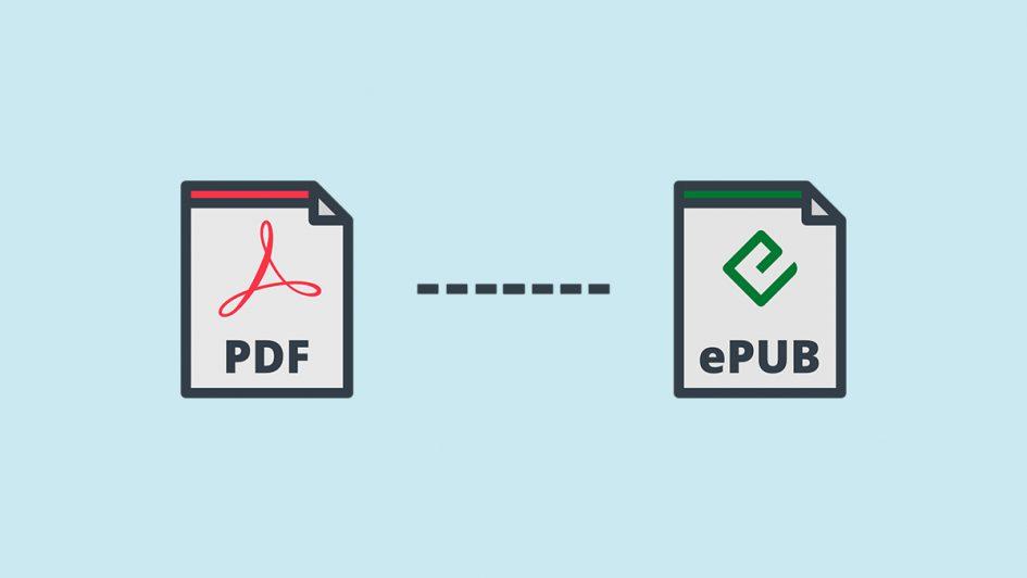 Convertir un pdf en epub