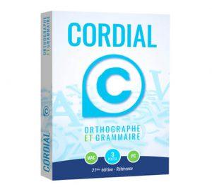 Cordial, logiciel de correction orthographique